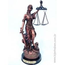Dama da Justiça em Resina - Bronze - Vários Tamanhos