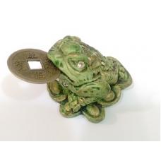 Sapo da Fortuna Verde (acompanha a moeda)