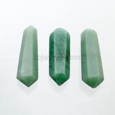 Bastão Biterminado de Quartzo Verde Ref.PN:B0027