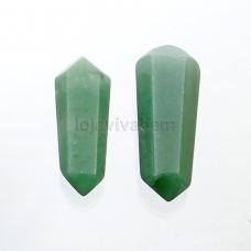 Bastão Biterminado de Quartzo Verde Ref.PN:B0028