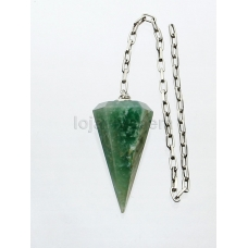 Pêndulo de Quartzo Verde Ref.PN:D0017