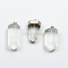 Pingente de Pedra Natural Cristal Ref.PN:P0008