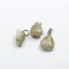 Pingente de Pedra Natural Cristal Rutilado Ref.PN:P0032