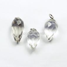 Pingente de Pedra Natural Cristal Ref.PN:P0042