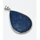 Pingente de Prata 925 com Lapis Lazuli Ref.DJ:C0125