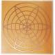 Gráfico Irradiador Energético - Inscrição em Cobre 7x7cm