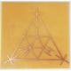 Gráfico SCAP ou André Philippe - Inscrição em Cobre 7x7cm
